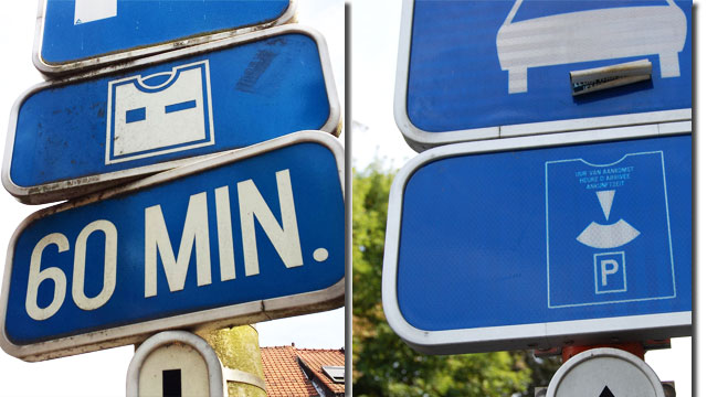 Disque de stationnement code de la route belge for Comparatif moniteur